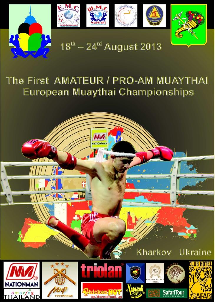 European Muaythai Championship 2013 Kharkov- Ukraine